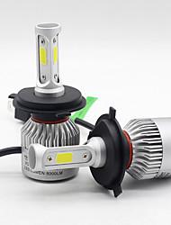 Недорогие -SO.K 2pcs H7 / H4 / H3 Автомобиль Лампы 25 W COB 6000 lm 3 Светодиодная лампа Противотуманные фары / Налобный фонарь Назначение Все года