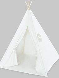Недорогие -2 человека Белл Палатка Палатка На открытом воздухе Путешествия Однослойный Карниза Пирамида Палатка для На открытом воздухе Пляж  Походы / туризм / спелеология Чистый хлопок, Хлопок 120*120*145 cm