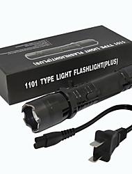 Недорогие -ZQ-X947 Светодиодные фонари LED излучатели 1501   1501 lm Руководство Режим освещения Простота транспортировки Легкость Черный
