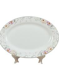 abordables -1 article Assiettes Vaisselle Porcelaine Créatif