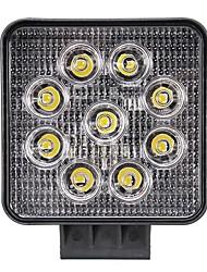 Недорогие -4inch 27w 1800lm вело свет водить квадрата луча потока света работы для с тележки внедорожника внедорожной