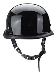 Недорогие -точечный немецкий стиль мотоцикл половина лица шлем мотокросс велосипед яркий черный м / л / xl