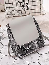 hesapli -Kadın's Çantalar PU sırt çantası Fermuar için Günlük Sonbahar Doğal Pembe / Gri / Şarap
