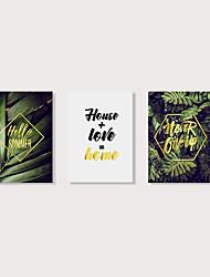 levne -Grafika Reprodukce maleb na plátně - Moderní Květinový / Botanický motiv Moderní