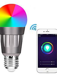Недорогие -e27 светодиодные умные лампочки wifi 22 светодиодные шарики smd 5730 работает с амазонкой алексой / управление приложениями / google home rgbw 85-265v