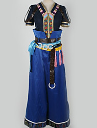 Недорогие -Вдохновлен Final Fantasy Косплей Аниме Косплэй костюмы Японский Косплей Костюмы Пэчворк / Разные цвета Кофты / Брюки / Перчатка Назначение Муж. / Жен.