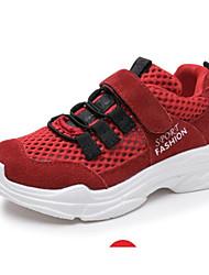 baratos -Para Meninos / Para Meninas Sapatos Com Transparência Primavera / Verão Conforto Tênis para Infantil / Adolescente Branco / Preto / Vermelho