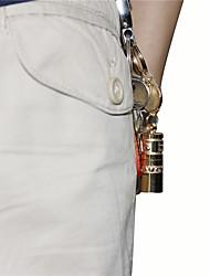 Недорогие -U'King ZQ-X989 Фонари-брелоки Светодиодная лампа LED 1 излучатели 140LM 1 Режим освещения Мини, Компактный размер, Маленький размер Повседневное использование Золотой