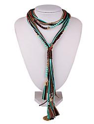 levne -ženský náhrdelník z etnické slitiny