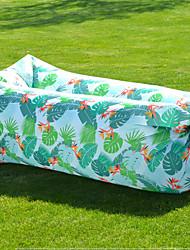 Χαμηλού Κόστους Sport & Outdoor-21Grams Φουσκωτός καναπές Στρώμα αέρα Εξωτερική Κατασκήνωση Αδιάβροχη Φορητό Πολύ πλατύ Σχεδιασμός-ιδανικό καναπέ Νάιλον Παραλία Κατασκήνωση Για Υπαίθρια Χρήση για / Γρήγορα φουσκωτά