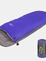お買い得  -寝袋 アウトドア 0 °C 立方体 ホワイトダックダウン 防風 ライトウェイト 防雨 ために キャンプ / ハイキング / ケイビング 旅行 冬