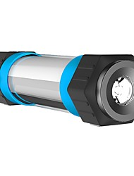 お買い得  -LITBest ランタン&テントライト 緊急ライト 自転車用ヘッドライト LED LED エミッタ マニュアル 照明モード バッテリー付き パータブル, LED, 防塵 キャンプ / ハイキング / ケイビング, 日常使用, サイクリング ブーレ / ブラック