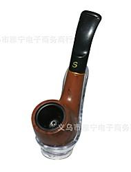 저렴한 -담배 파이프 활기 없는 전통적인 단순한 담배와 기름