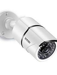 Недорогие -ZOSI 1AC-2612C-W 1/3 дюйма КМОП Инфракрасная камера / Водонепроницаемый / Цилиндрические камера H.264 IP66