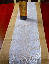 cheap -Contemporary 100g / m2 Polyester Knit Stretch Square Table Runner Geometric Table Decorations 1 pcs