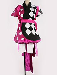 זול -קיבל השראה מ קוספליי קוספליי אנימה תחפושות קוספליי חליפות קוספליי תבנית גאומטרית שמלה / קשת / עוד אביזרים עבור בגדי ריקוד גברים / בגדי ריקוד נשים