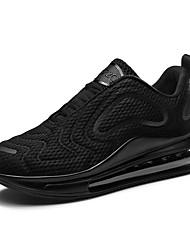 Недорогие -Муж. Комфортная обувь Tissage Volant Весна / Осень Спортивная обувь Черный / Черно-белый / Красный