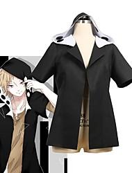 baratos -Inspirado por Fantasias Fantasias Anime Fantasias de Cosplay Ternos de Cosplay Outro Manga Curta Blusa Para Unisexo