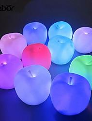 abordables -Décorations de vacances Nouvel An / Décorations de Noël Eclairage de Noël / Décorations de Noël Lampe LED / Décorative Multi-couleurs 1pc