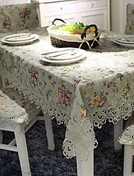 baratos -Moderna Acetato Quadrada Toalhas de mesa Bordado Decorações de mesa