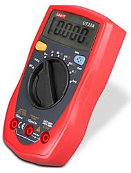 Недорогие -uni-t ut33a размер ладони цифровой мини автоматический диапазон мультиметр диодный транзистор тест постоянного тока переменного напряжения