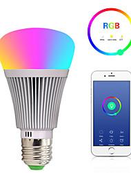 Недорогие -e27 светодиодные умные лампочки wifi 22 светодиодные шарики smd 5050 работает с амазонкой алексой / управление приложениями / google home rgbw 85-265v
