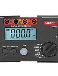 Недорогие -Цифровой тестер заземления uni-t-521 Измеритель сопротивления заземления Измеритель сопротивления омметр Вольтметр 2000
