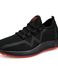 Χαμηλού Κόστους -Ανδρικά Παπούτσια άνεσης Δίχτυ Άνοιξη & Χειμώνας Καθημερινό Αθλητικά Παπούτσια Περπάτημα Μαύρο