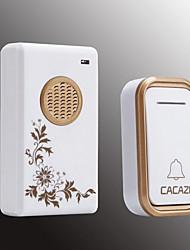 Недорогие -умный дом беспроводной дверной звонок обмен цифровой музыки дверной звонок дальнего расстояния водонепроницаемый беспроводной пульт дистанционного управления дверной звонок пусковая установка ip44