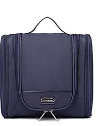 저렴한 -옥스퍼드 섬유 한 색상 기내 가방 지퍼 한 색상 블랙 / 네이비 블루 / 핑크
