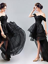 Χαμηλού Κόστους -Μαύρος κύκνος Φορέματα Γυναικεία Στολές Ηρώων Ταινιών Μαύρο Φόρεμα Halloween Απόκριες Μασκάρεμα Τούλι Organza Βαμβάκι
