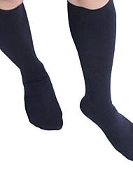 Недорогие -Спортивные носки / спортивные носки Носки для велоспорта Компрессионные носки Черный Зима Дышащий Сжатие видеоизображений Спорт в свободное время Велосипедный спорт / Велоспорт Муж. Универсальные
