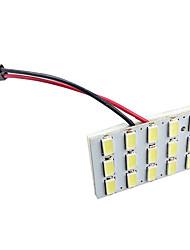Недорогие -5630 15смд автомобиль белый светодиодный купол для чтения панели багажника лампочка