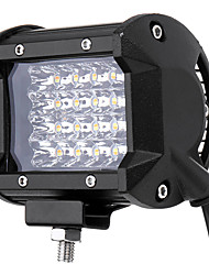 baratos -1 Peça Conexão de fio Motocicleta / Carro Lâmpadas 96 W 7600 lm 24 LED Luz Anti Neblina / Lâmpada de Farol Para Jeep Todos os Anos