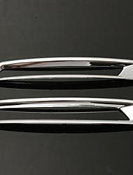 Недорогие -2шт подходит для 13-15 малибу задний отражатель противотуманные фары хромированная крышка накладка молдинга