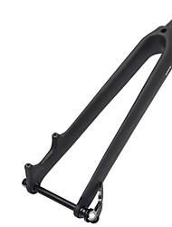 Недорогие -BIKEIN вилка Дорога вилы 28.6 mm Углеродное волокно Легкость Мощность для Велоспорт Шоссейные велосипеды Черный