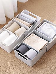 levne -PVC / PP Obdélníkový Nový design / Rozkošný Domov Organizace, 1ks Skladovací krabice / Skladovací jednotky / Organizéry do skříně