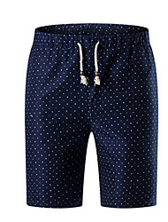 povoljno -Muškarci Ulični šik Kratke hlače Hlače Na točkice