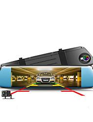 Недорогие -ZYRoad A7PLUS 1080p Ночное видение / Двойной объектив / Загрузочная автоматическая запись Автомобильный видеорегистратор Широкий угол 5.0 Мп КМОП 7 дюймовый IPS Капюшон с Ночное видение / G-Sensor
