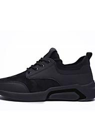 זול -בגדי ריקוד גברים נעלי נוחות סינטטיים קיץ & אביב נעלי אתלטיקה לבן / שחור