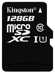 Недорогие -Kingston 128GB Карточка TF Micro SD карты карта памяти Class10