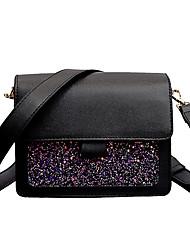 cheap -Women's Bags PU(Polyurethane) Shoulder Bag Glitter Pink / Brown / Khaki
