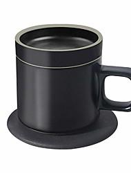 Недорогие -vh x mgeek Ци беспроводной комплект для обогрева чашек и зарядки телефона, быстрое беспроводное зарядное устройство на 10 Вт и беспроводная кружка для подогрева на 24