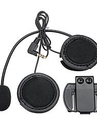 Недорогие -V6 / V4 Bluetooth мотоциклетный шлем домофон внутренняя гарнитура наушники черный