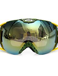 levne -Unisex Motocyklové brýle Sportovní Proti zamlžování / Ochrana proti slunci / Non Slip Pryžový silikon / Polyester / Čínský nylon