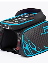 Недорогие -PROMEND Бардачок на раму / Сумка 6.2 дюймовый Велоспорт для Велосипедный спорт Синий
