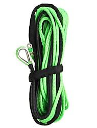 Недорогие -Кабельная линия буксирной лебедки веревочки нейлона 15m 7000lb с оболочкой для внедорожника atv с дороги