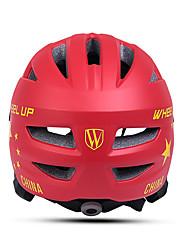 Недорогие -Wheel up Дети Мотоциклетный шлем 13 Вентиляционные клапаны Формованный с цельной оболочкой ESP+PC ПП (полипропилен) Виды спорта На открытом воздухе Велосипедный спорт / Велоспорт - Красный Розовый