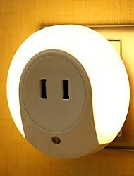 abordables -1pc LED Night Light Jaune DC alimenté <=36 V