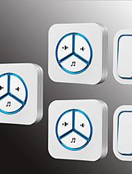 Недорогие -Factory OEM Беспроводное Два-три дверных звонка Музыка / Дзынь-дзынь Невизуальные дверной звонок Крепеж на поверхности